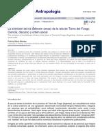 Méndez - La extinción de los selknam (onas) de la isla de Tierra del Fuego. Ciencia, discurso y orden social