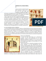 Alimentacic3b3n y Gastronomc3ada en La Edad Media