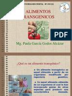 2. Alimentos Transgénicos