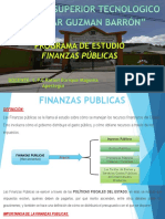 Diapositiva de Finanzas Publicas Clase I