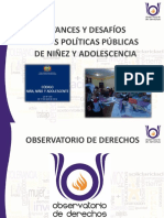 Avances y Desafíos en Las Políticas Publicas - Chuquisaca Bolivia