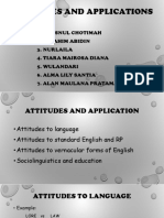 Ppt Attitudes and Applications