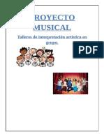 Proyecto de Musica