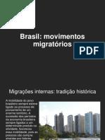 BRASIL migrações