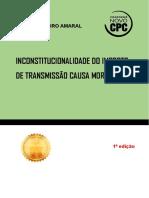 Inconstitucionalidade Do Imposto de Transmissão Causa Mortis- Ariel Amaral-2018
