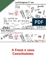 FRASE E SEUS CONSTITUINTES.ppt