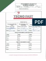 Procedimiento de Montaje Tecno Fast Rental