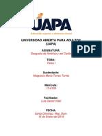 Geografia de America y del Caribe Tarea I. altagracia.docx