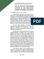 EDFD201 Reaction Paper
