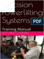 Precision Powerlifting Systems Training Manual - Kevin Cann
