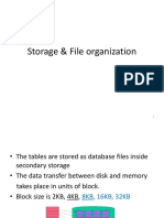 Storage and file management