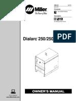 Miller Dialarc 250 Ac-dc