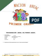 PROGRAMACION PRIMER GRADO 2016.doc
