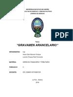GRAVAMEN ARANCELARIO TRABAJO.docx