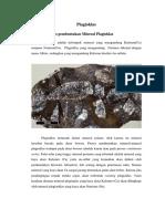 mineral plagioklas