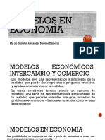 8. Modelos en Economía
