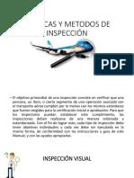 Tecnicas y Metodos de Inspección