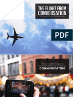 The Flight From Conversation