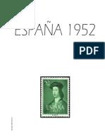 Hojas Album 1952
