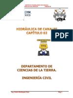 Capitulo 2 Hidraulica de Canales