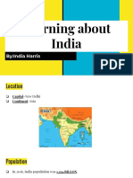 india research project