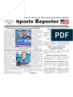 May 22 - 28, 2019  Sports Reporter