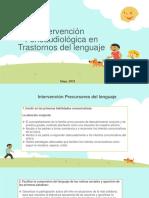 Intervención Fonoaudiológica en Trastornos del lenguaje