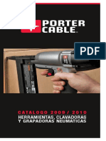 Catalogo de herramientas Porter Cable