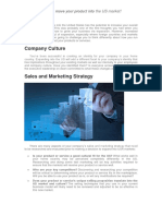 BD US Market Consulting