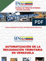 Presentación CONTRIBUYENTES ESPECIALES