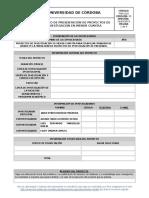 Formato de Presentacion de Proyecto