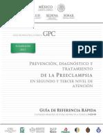 Prevención, Diagnóstico y Tratamiento de La Preeclampsia en El Segundo y Tercer Niveles de Atención