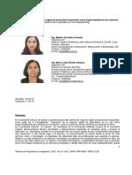 Caracterización de La Espuma Rígida de Poliuretano Expandido Como Impermeabilizante de Cubiertas