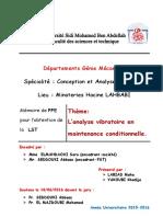 L'Analyse Vibratoire en Mainte - LABIAD Maha_3150