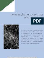 AULA 1 - Diferenças e Aproximações de Psicodiagnóstico e Evaliação Psicológica