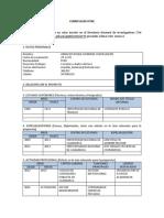 Formato Cv. Expositores