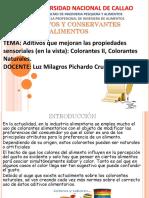 Colorantes, Aditivos Que Mejora en Vistai Colorantes II