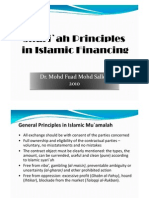 Shari`ah Principles in Islamic Finance