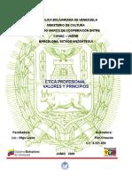 ÉTICA PROFESIONAL - VALORES Y PRINCIPIOS.doc