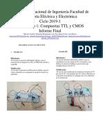 INFORME FINAL COMPUERTAS TTL Y CMOS