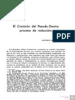 El Cronicon Del PseudoDextro Proceso de Redaccion