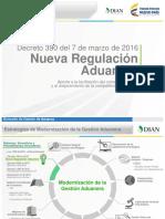 Estatuto aduanero 2016