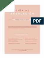 2019 Indispensables Mayo Guía de Regulación Emocional y Real