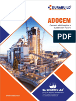 Adocem Catalogue-Cement Grinding Aids