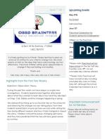 preschool i7v1 newsletter 2018