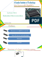 CH 02A Embedded Microcontroller