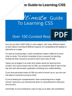The Ultimate Guide to Learning CSS