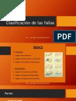Clase 7 Clasificación de Las Fallas