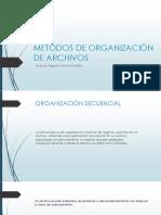 Metodos de Organización de Archivos