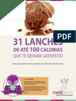 31 Lanches de Até 100kcal que te deixam satisfeito - Dr. Rafael Reinehr